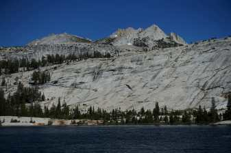 Lower Cathedral Lake, looking toward Echo Peaks