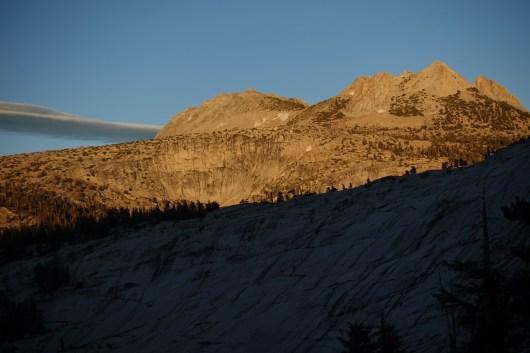 Echo Peaks at sunset