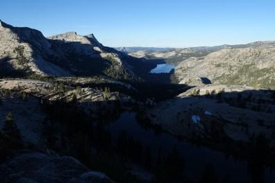 Looking toward Tenaya Lake and Half Dome