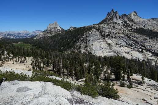 Cathedral and Echo Peaks