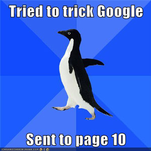 How to recover from Google Penguin Penalty