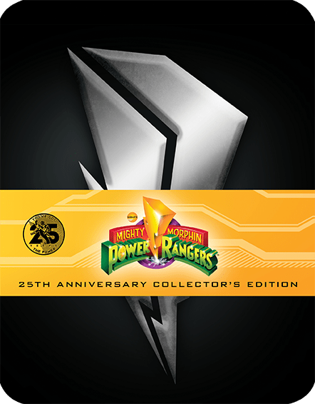 Power Rangers Steelbook
