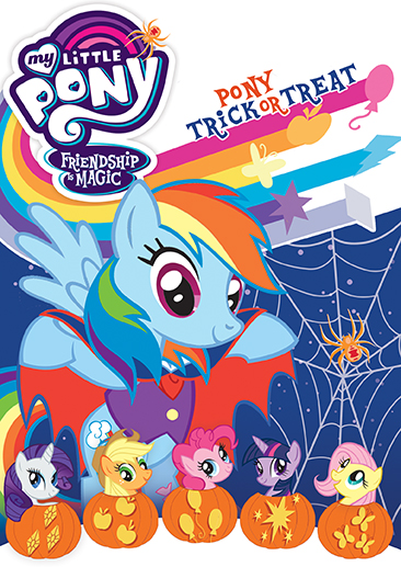 My Little Pony Friendship Is Magic Pony Trick Or Treat Dvd Shout Factory