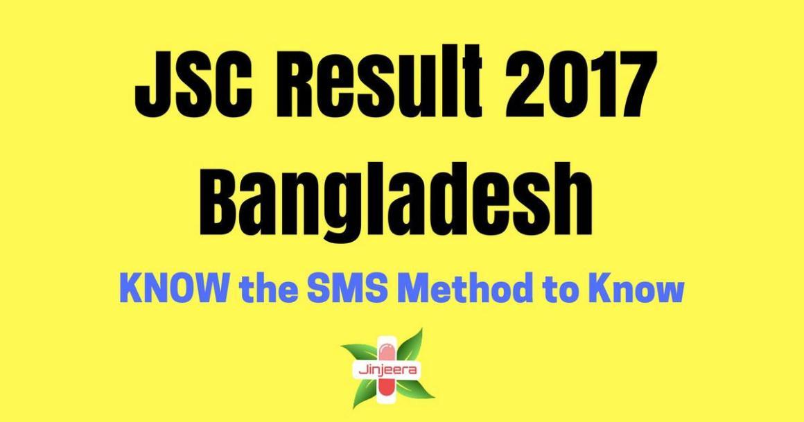 JSC Result 2017 Bangladesh