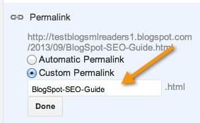 Blogspot SEO tutorial