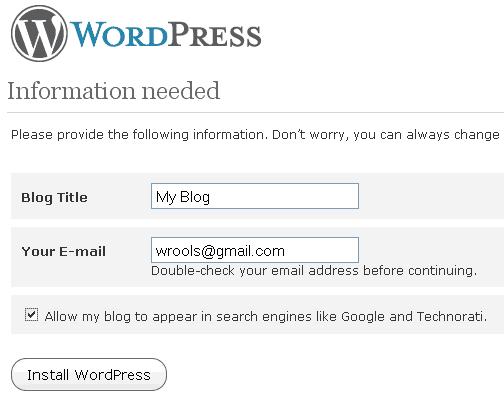 Offline WordPress