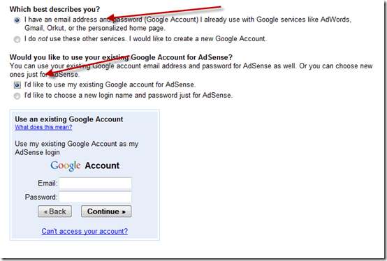 Adsense-Email-address