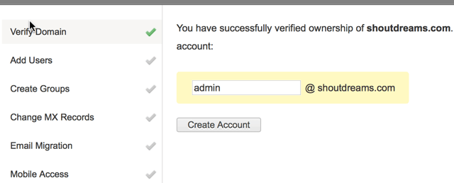 Zoho configured Successfully
