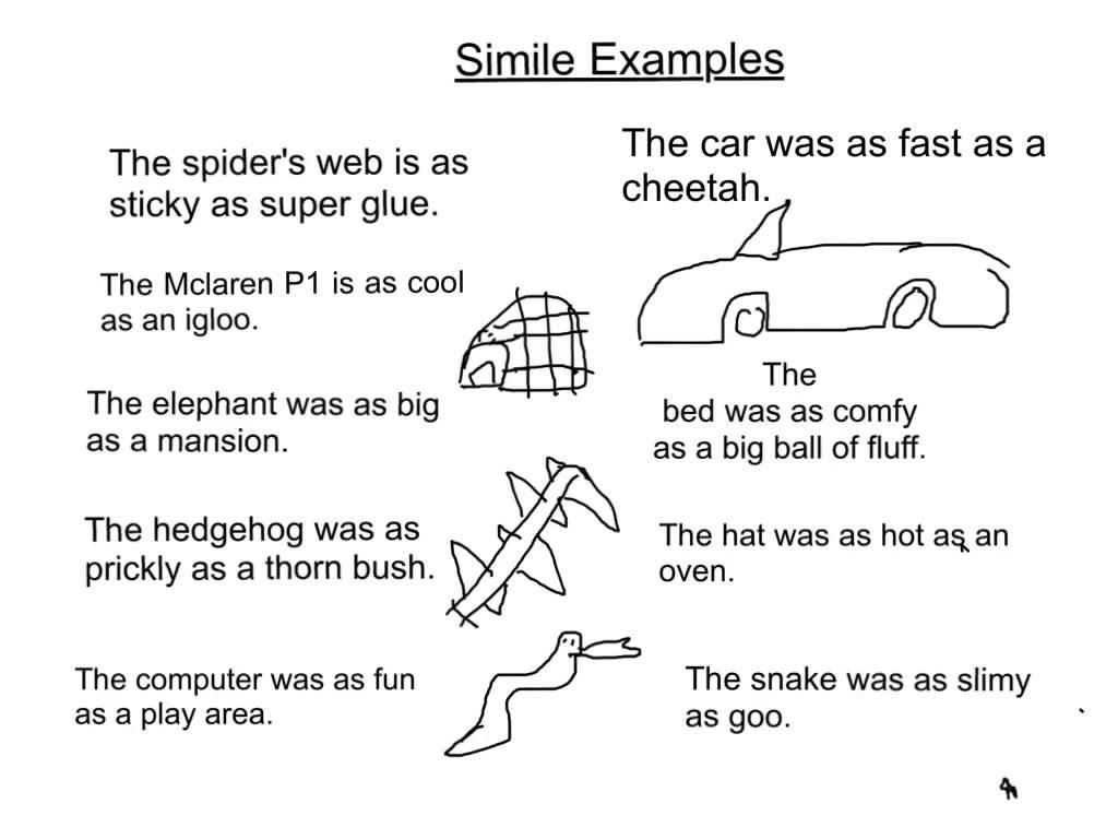 Simile Or Metaphor Worksheet