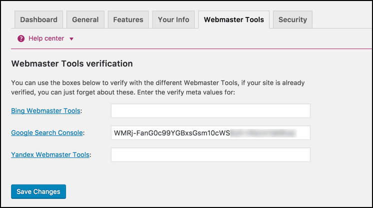 yoast-seo-webmaster-tools