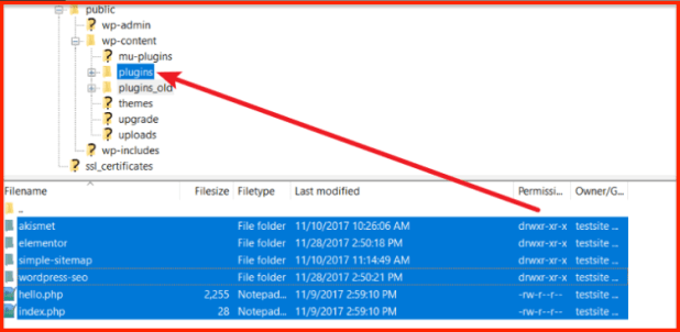 Move all the files from plugins_old to plugins