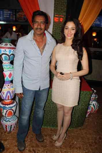 Ajay & Tamannaah-himmatwala trailer launch-showbizbites01