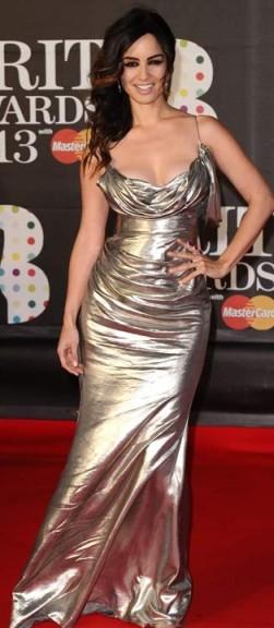 Berenice Marlohe-Brit Awards2013-showbizbites