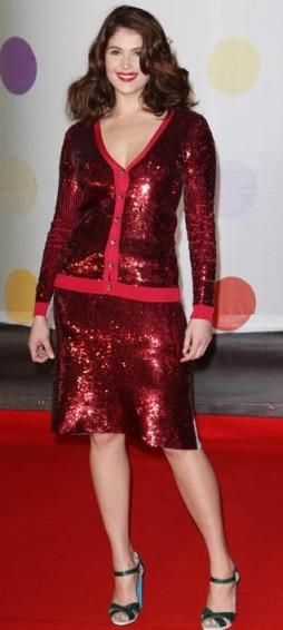Gemma Arterton-Brit Awards2013-showbizbites