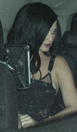katy's lingerie inspired outfit-showbizbites-01