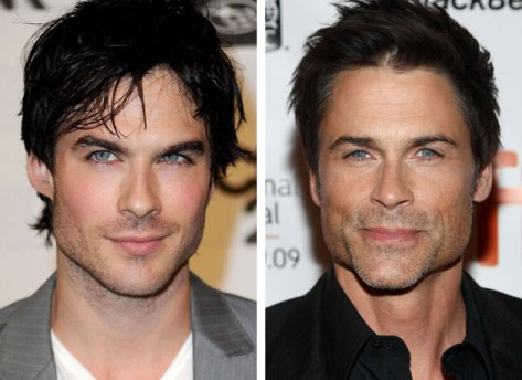 Rob Lowe and Ian Somerhalder
