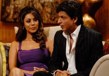 SRK and Gauri Khan-showbizbites