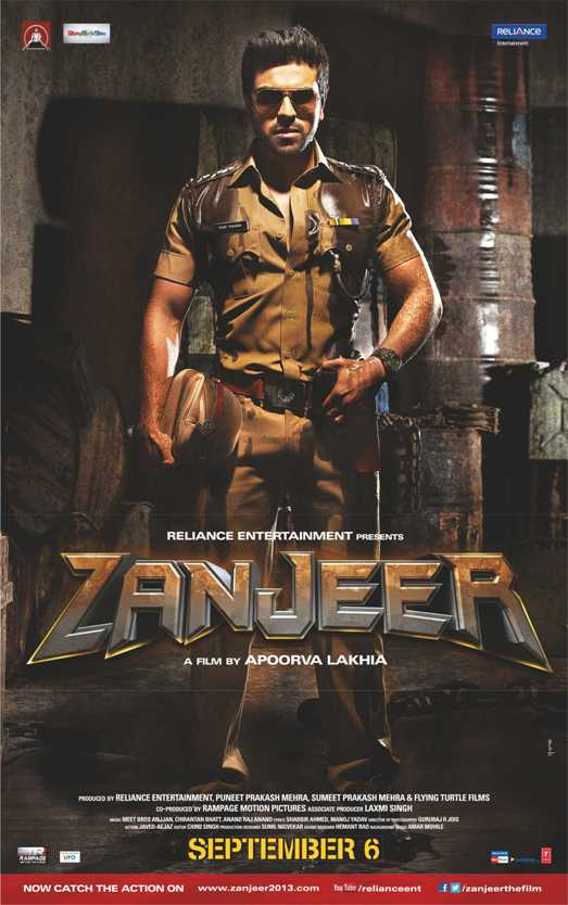 Zanjeer. Poster-Full length-showbzibites