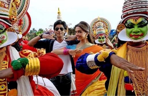 SRK-Deepika-Chennai Express