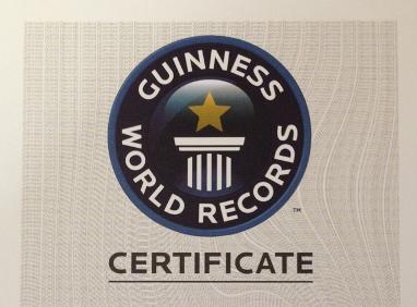 Guinness World Record Certificate-Featured-Showbizbites