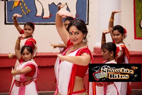 Sonakshi Sinha as a Bengali in Bullett Raja (3)