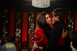 Pictures: Deepika Padukone Suffers a Wardrobe Malfunction on TV Show