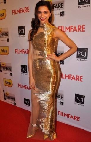 deepika at 59th filmfare awards-showbizbites-01