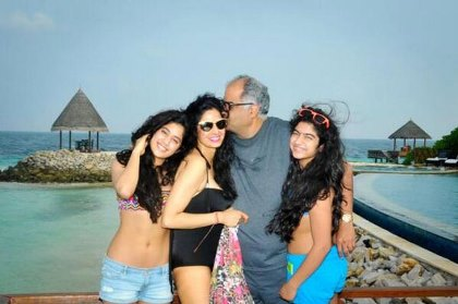 sri devi with daughters in bikini-showbizbites-featured
