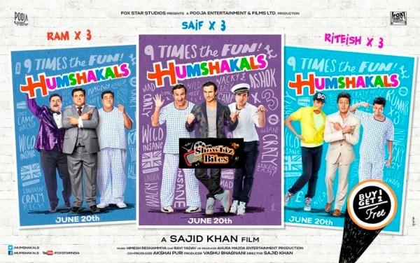 Humshakals Poster 2-showbizbites