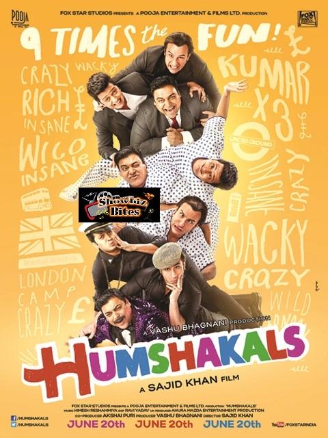 Humshakals Poster-showbizbites