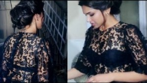 Pictures: Deepika Padukone Shows Her Black Bra, Check Out How?