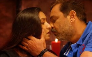 Pictures: 40-Year-Old Hot Actress Locks Lips with Actor, Check Out