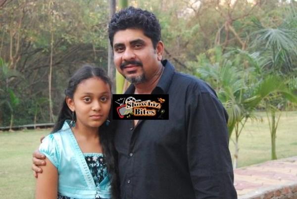 Ishika Shahi with father Rajan Shahi