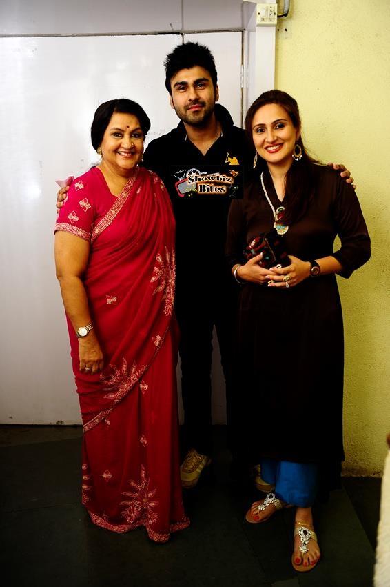 Arya Babbar, Nadira Babbar and Juhi Babbar