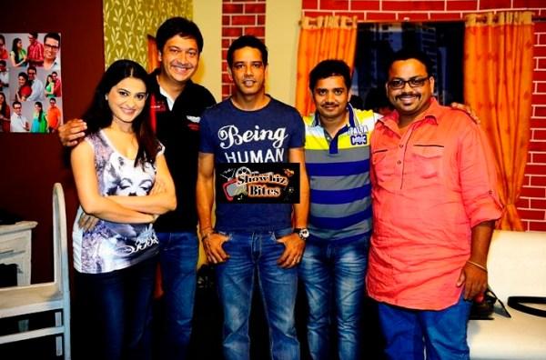 Simat Bansal, Anup Soni, Sachin Parikh, Sanjay Jha and Prasad Khandekar
