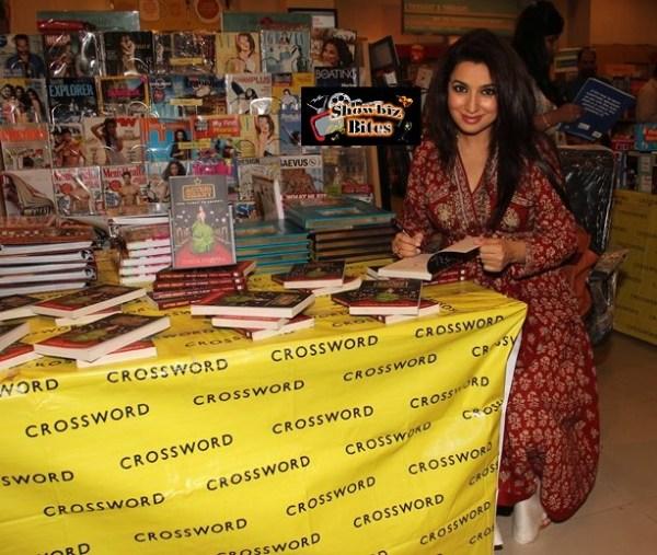 tisca chopra signs book-showbizbites-01