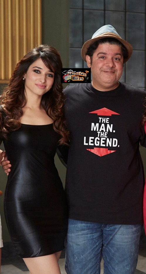 Tamannaah and Sajid Khan - Humshakals-showbizbites