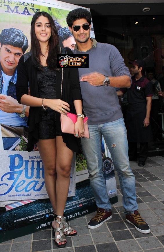 Tanuj Virwani and Izabelle Leite