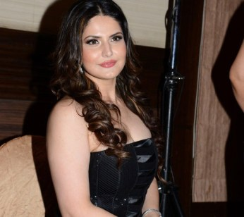 zarine khan at the launch-showbizbites