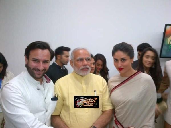 saif and kareena with modi-showbizbites