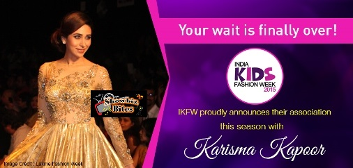 karishma to walk the ramp with kids-showbizbites-01