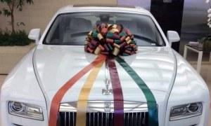 Salman Gifts White Rolls-Royce Phantom to Arpita as Marriage Gift