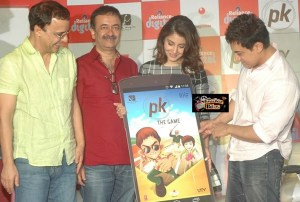 Pics: Now PK Game Launched By Aamir Khan and Anushka Sharma