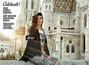 Nargis Fakhri on the Cover of Travel Plus – Supremely Beautiful