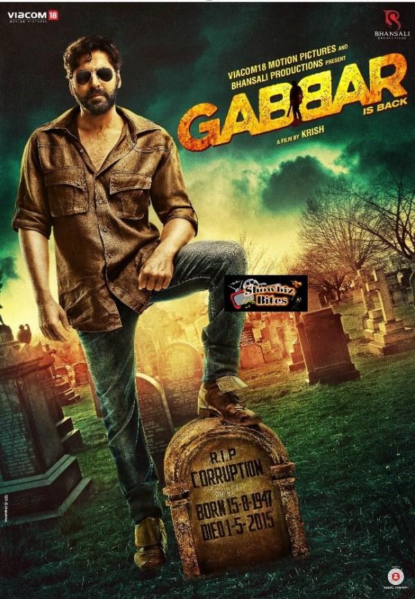 Gabbar Poster - 01