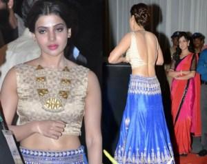 PHOTOS: South Actress Samantha Shows Yummy Back