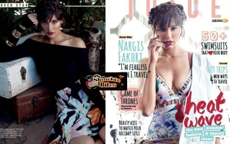 Nargi Fakhri-The Juice Shoot-Feat