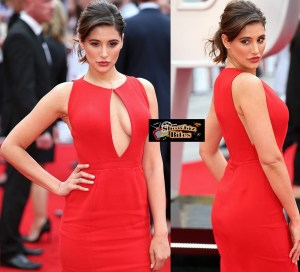 PIX: Nargis Fakhri Steals the Show at Spy Premiere in London with Cleavage Display
