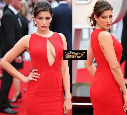 Nargis Fakhri at Spy Premiere