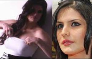 PHOTOS: Zarine Khan Almost Without Clothes